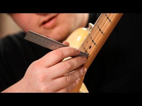 How to Adjust Bass Bridge Saddle Height | Guitar Setup