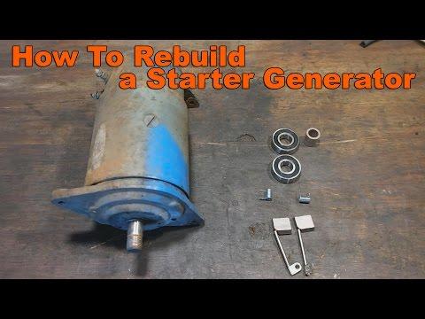 How to Your Rebuild Garden Tractor's Starter Generator