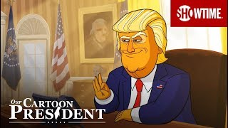 Our Cartoon President (2018) | Official Trailer | Stephen Colbert SHOWTIME Series