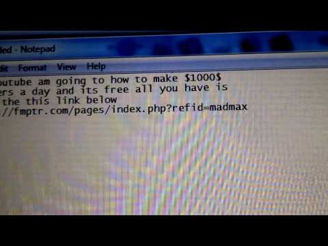 How to make a 1000 dollars  a day its free to sign up