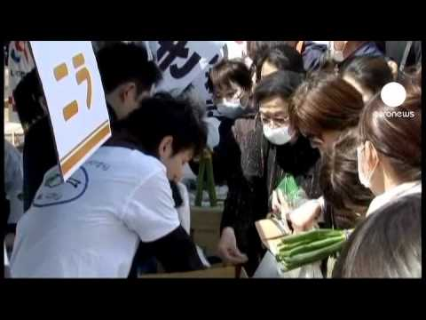 Japan vegetables caught up in nuclear PR battle