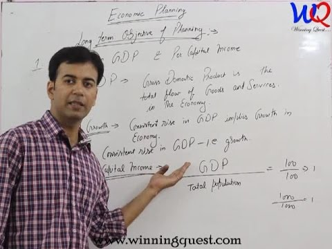 Economics - Economic Planning,  XIth, by CA. Pardeep Jha,  Part - 1