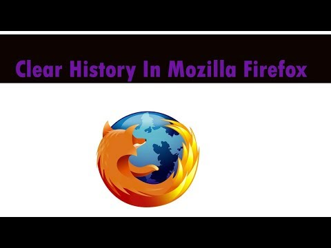 How to clear mozilla browser history in 2018