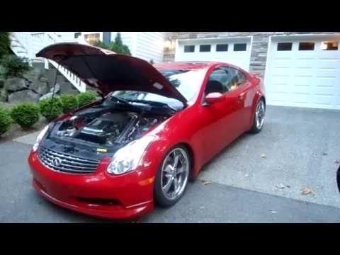 600hp 2005 Infiniti G35 twin turbo: in car video - Seattle to Redmond in 9 minutes