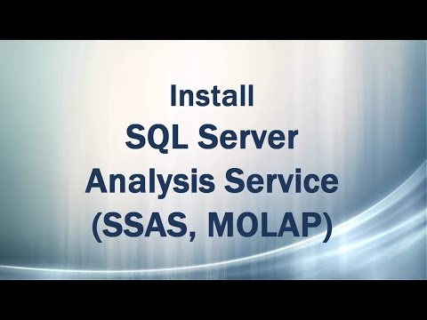 Install SQL Server Analysis Services (SSAS, MOLAP 2014)
