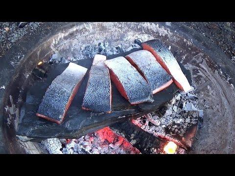 Stone Cooking: Salmon