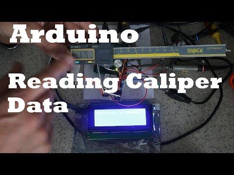 Sending iGaging Caliper Data to Arduino to use as DRO