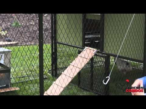 Chicken Condos Chicken Coop Sliding Door