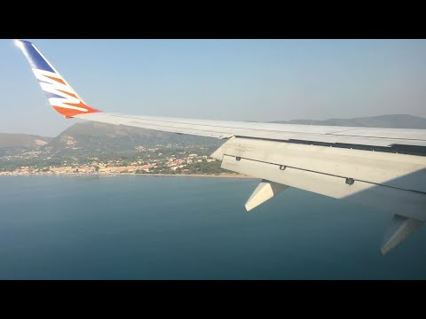Flight from Prague to Zakynthos (Greece)