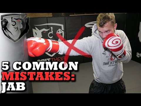 5 Common Jab Mistakes: This Should be Your Best Punch!