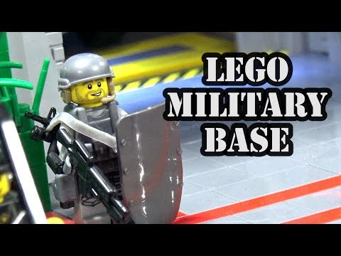 LEGO Secret Mountain Military Fortress | Philly Brick Fest 2018