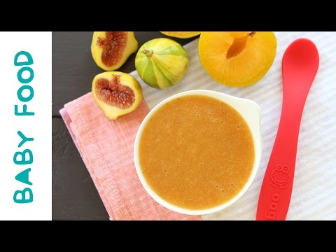 Fig & Pluot baby puree +6M