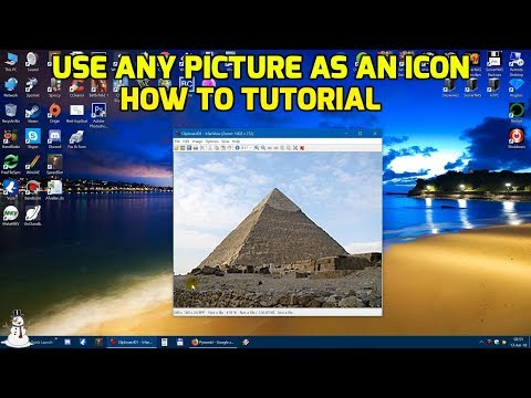 Use any picture as an icon - How to Tutorial
