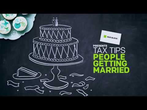 Tax Tips and Benefits for Getting Married from H&R Block