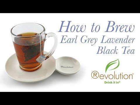 How to Brew Earl Grey Lavender Black Tea
