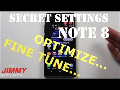 7 Secret Settings To FINE TUNE Your Note 8 (Optimize)