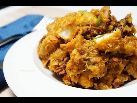 How to Make Yam and Plantain Porridge