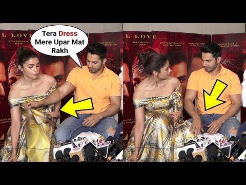 Xxx Mp4 Varun Dhawan Rude Behaviour Towards Alia Bhatt At Kalank Promotion 3gp Sex