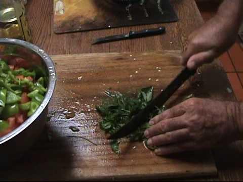 Cucumber, Tomato & Black Olive Salad