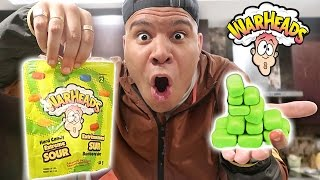 Download DIY WARHEADS BUBBLE GUM (TURN ANY CANDY TO GUM) *EXTREME SOUR* Video