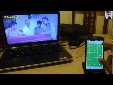 Use smartphone as a remote for your laptop