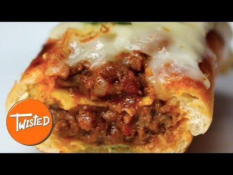 Homemade Cheesy Lasagna Subs | Twisted