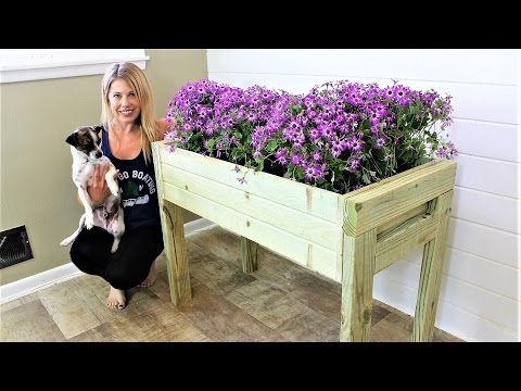 The Elevated Planter Box - Easy DIY Project