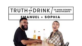 Ex High School Sweethearts (Emanuel & Sophia) | Truth or Drink | Cut