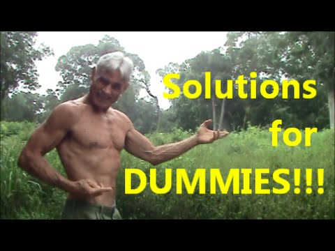Solutions for DUMMIES!!!