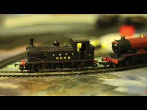 Model Train - Preliminary Run 3 Locos - By Andy Barrow