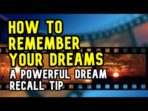 How To Remember Dreams BETTER With This Wierd Tip - Howtolucid.com
