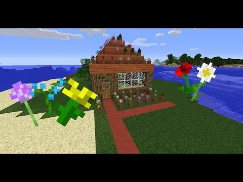 √ Minecraft: How to make a Flower Shop