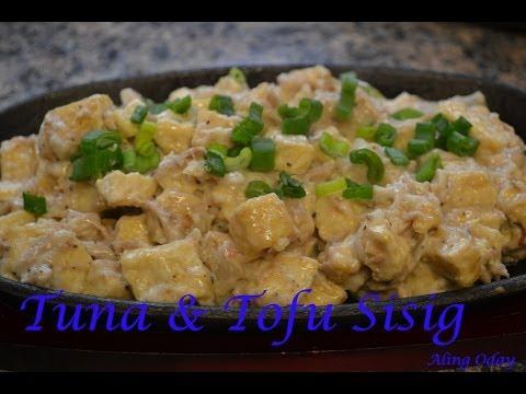 Tuna and Tofu Sisig