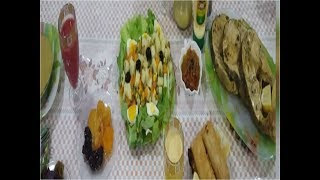 #x202b;رجعتكم للوراء لمائدة اخر ايام رمضان (سمك بشرمولة روعة)#x202c;lrm;