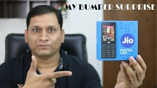 Jiophone Unboxing with Bumper Surprise Only for YOU :)