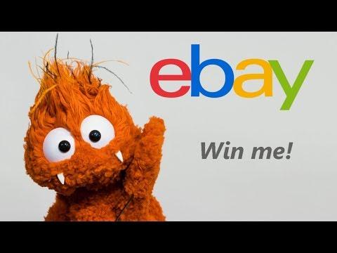 eBay Orange Monster Puppet