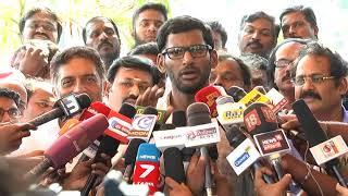 Vishal speech after the fight in producer council meeting | Vishal | T Rajendar| Cheran