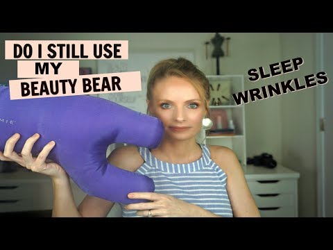 UPDATE!! DO I STILL USE THE BEAUTY BEAR PILLOW? HOW TO STOP SLEEP WRINKLES