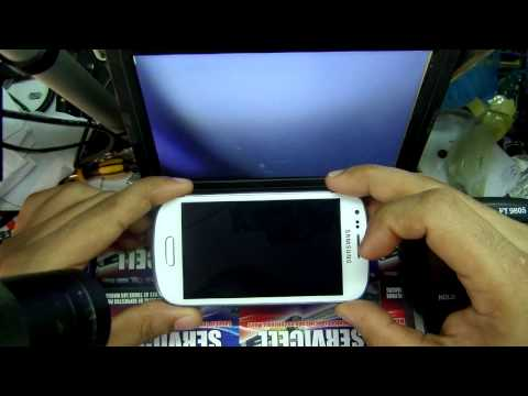 reparacion Samsung I8190 Galaxy S III mini no enciende , repair s3 mini dead