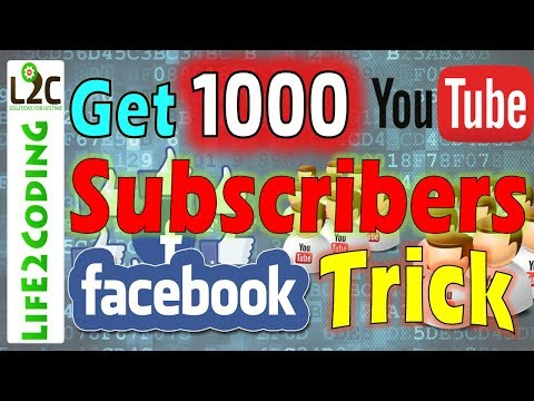 Easily Get More Subscribers on Youtube using Facebook GIF Sharing Trick