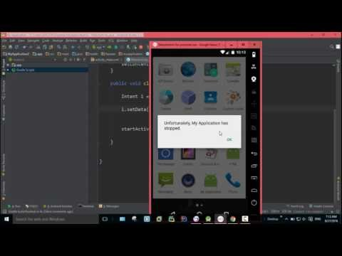 How to open Google Maps using Intent In Android Studio #118