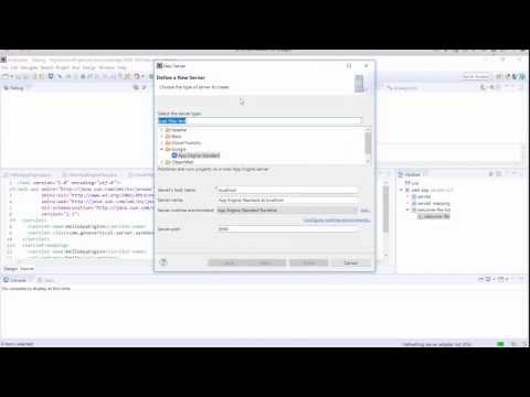 Installing the Google Cloud Tools for Eclipse Plugin