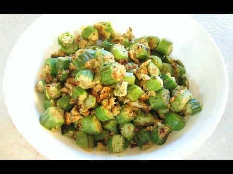 Fried Okra - Easy Pan Fried Recipe - PoorMansGourmet