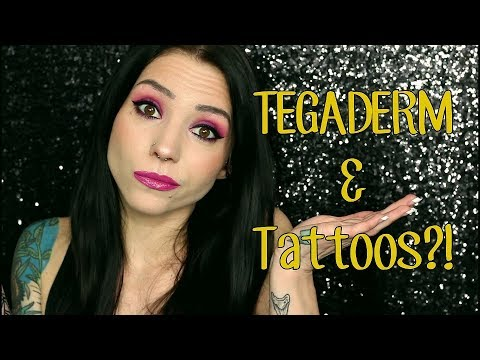 Tattoo Healing With TEGADERM! | My Experience | Pros & Cons