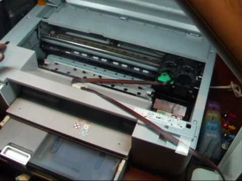 HP Photosmart C5280 CISS Installation