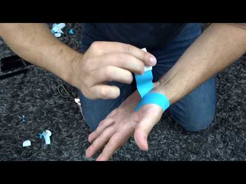 Thumb Strain Pain Kinesio Taping Thenar Eminence | Northern Soul channel