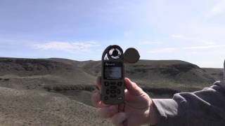 Shooting long range with the Kestrel 4500NV Applied