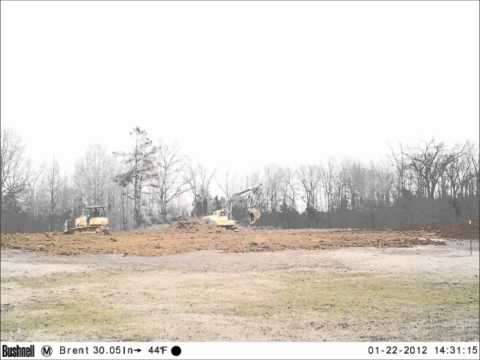 Pond Build - Clearing the Property
