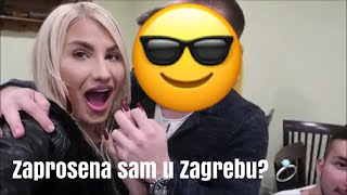 VLOG- ZAPROSENA SAM U ZAGREBU!?