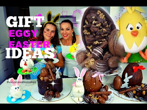 DIY CHEAP EASTER EGG DECORATION IDEAS UNDER $20| CHOCOLATE MUD CAKE | BY VERUSCA WALKER